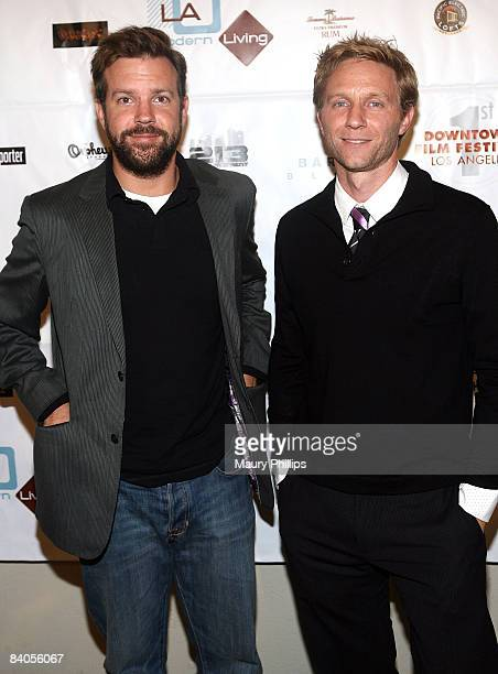 Jason Sudeikis And Alex Holdridge Arrive At In Search Of A Midnight Kiss Los