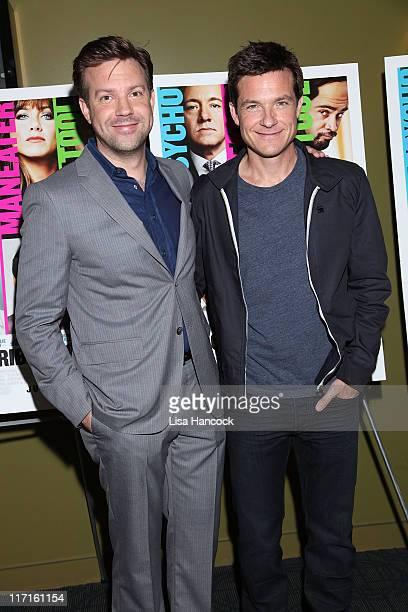 Jason Sudeikis and Jason Bateman attend the screening of Horrible Bosses at the Sunshine Landmark on June 23 2011 in New York City