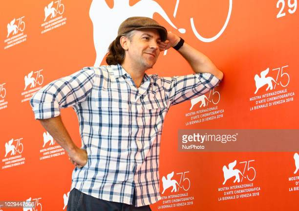 Jason Sudeikis attend 'Driven' photocall during the 75th Venice Film Festival on September 8 2018 in Venice Italy
