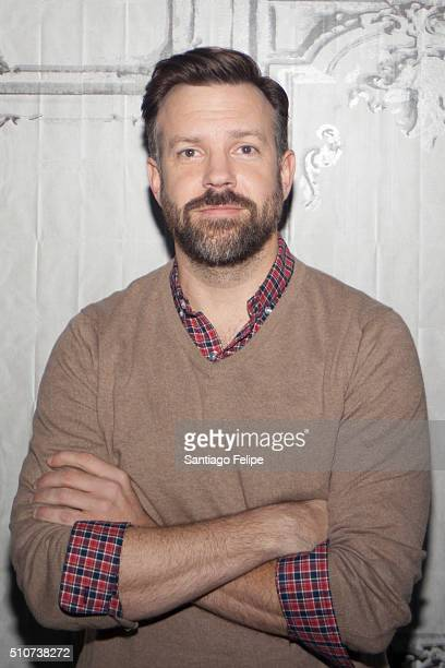 Jason Sudeikis attends AOL Build Speaker Series 'Race' at AOL Studios In New York on February 16 2016 in New York City