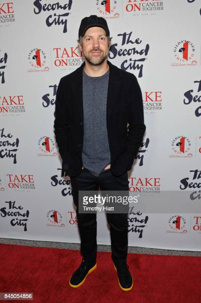 Jason Sudeikis attends 'I Can't Believe They Wendt There The Roast Of George Wendt' on September 9 2017 in Chicago Illinois