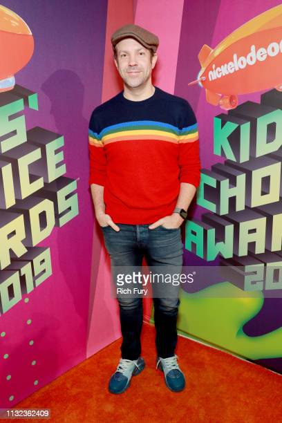 Jason Sudeikis attends Nickelodeon's 2019 Kids' Choice Awards at Galen Center on March 23 2019 in Los Angeles California