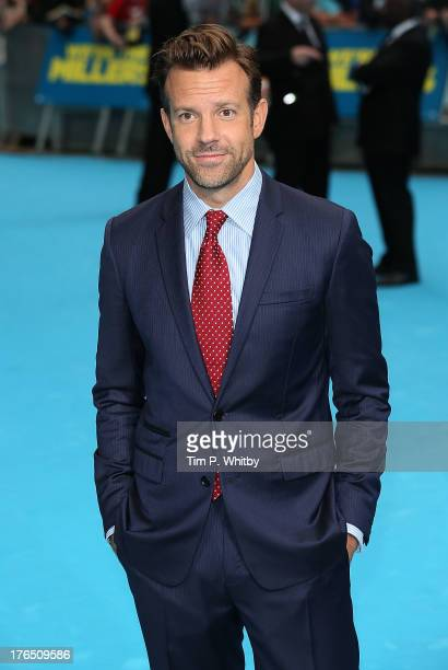 Jason Sudeikis attends the European premiere of 'We're The Millers' at Odeon West End on August 14 2013 in London England