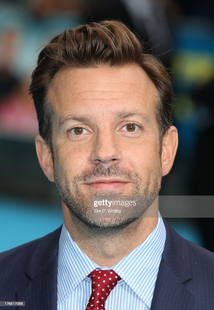 Jason Sudeikis attends the European premiere of 'We're The Millers' at Odeon West End on August 14, 2013 in London, England.