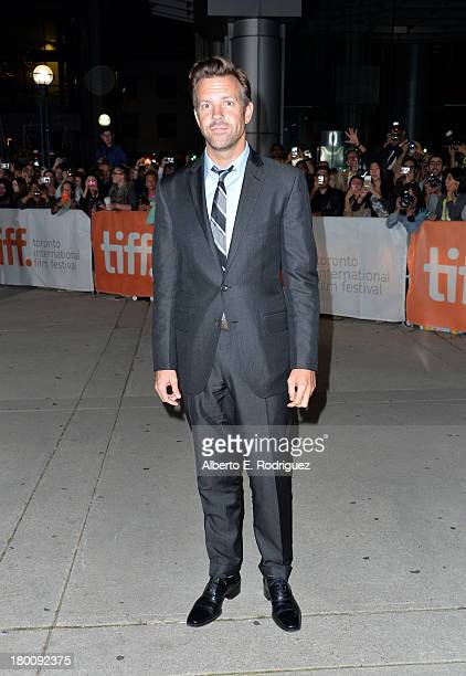 Jason Sudeikis attends the 'Rush' premiere during the 2013 Toronto International Film Festival at Roy Thomson Hall on September 8 2013 in Toronto...