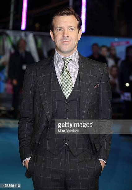 Jason Sudeikis attends the UK Premiere of Horrible Bosses 2 at Odeon West End on November 12 2014 in London England