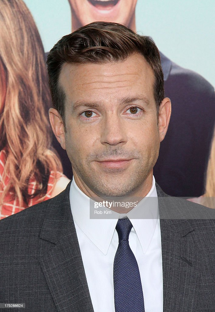 Jason Sudeikis attends the 'We're The Millers' New York Premiere at Ziegfeld Theater on August 1, 2013 in New York City.