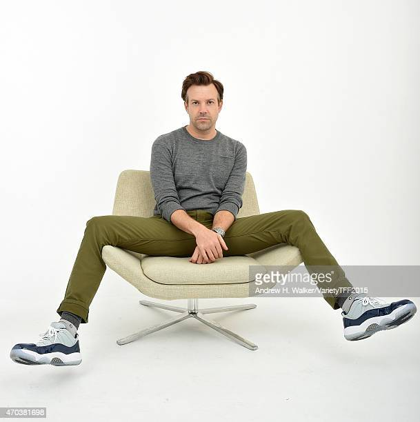 Jason Sudeikis from 'Tumbledown' appears at the 2015 Tribeca Film Festival Getty Images Studio on April 18 2015 in New York City
