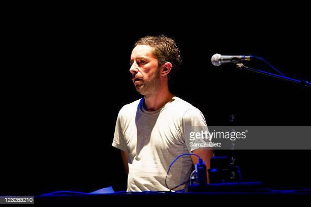 Jason Swinscoe of Cinematic Orchestra performs live during the Festival Jazz A La Villette 2011 at Grande Halle de La Villette on September 1, 2011...