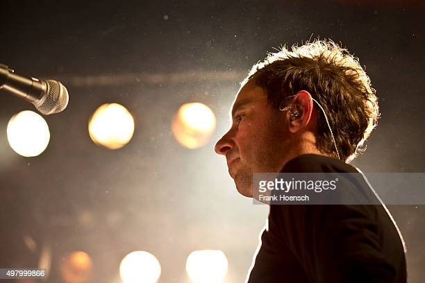 Jason Swinscoe of the British band The Cinematic Orchestra performs live during a concert at the Astra on November 12 2015 in Berlin Germany