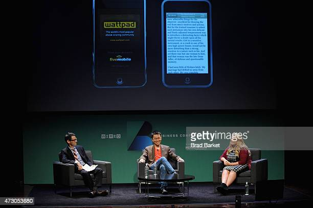 Jason Tanz Editor at Large WIRED interviews Allen Lau Cofounder CEO Wattpad and Anna Todd Author After onstage at the WIRED Business Conference 2015...