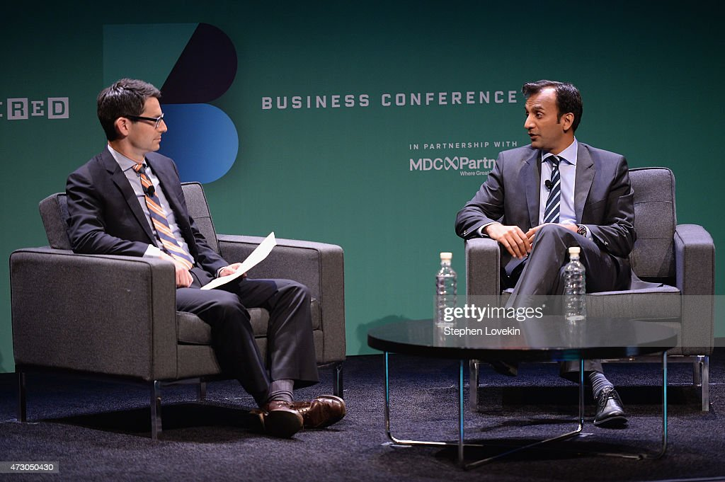 Jason Tanz, Editor at Large, WIRED interviews DJ Patil, Deputy CTO for Data Policy & Chief Data Scientist, USA onstage at the WIRED Business Conference 2015 at Museum of Jewish Heritage on May 12, 2015 in New York City.