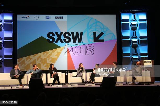 Jason Tanz Westworld showrunner/creator Jonathan Nolan showrunner/creator Lisa Joy actors Evan Rachel Wood Thandie Newton James Marsden and Jeffrey...