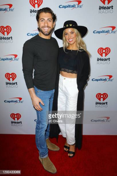 Jason Tartick and Kaitlyn Bristowe attend iHeartRadio ALTer EGO presented by Capital One at The Forum on January 18, 2020 in Inglewood, California.