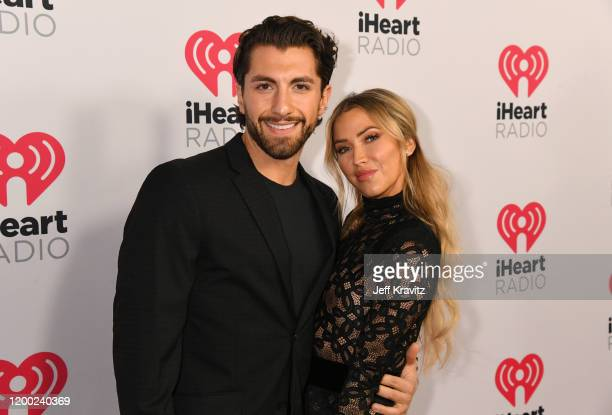 Jason Tartick and Kaitlyn Bristowe attend the 2020 iHeartRadio Podcast Awards at the iHeartRadio Theater on January 17, 2020 in Burbank, California.