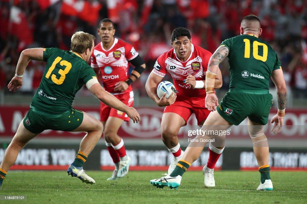 Australia v Tonga : News Photo
