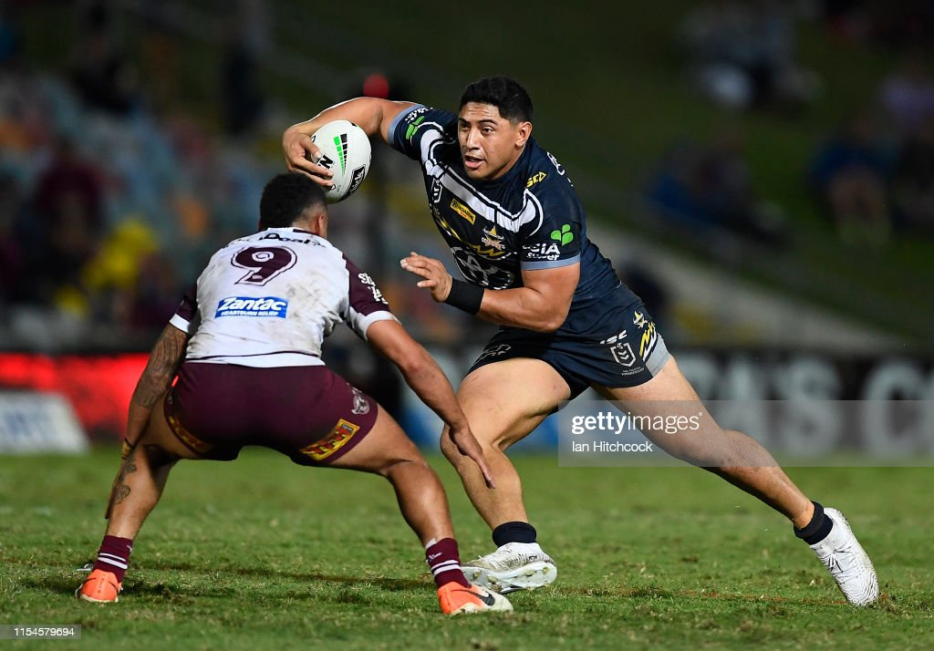 NRL Rd 13 - Cowboys v Sea Eagles : News Photo