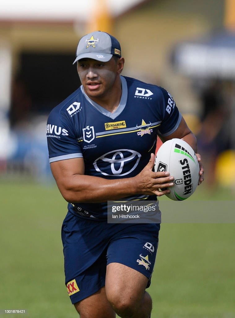 North Queensland Cowboys Scrimmage and Fan Day In Ayr : News Photo