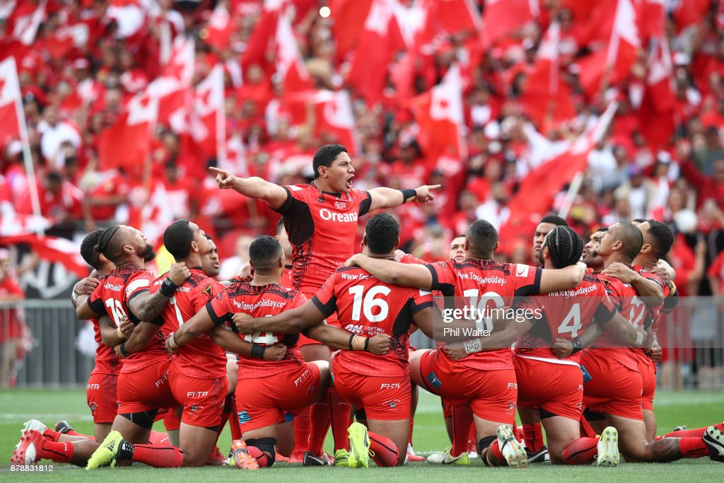 2017 Rugby League World Cup - Semi Final 2: Tonga v England : News Photo