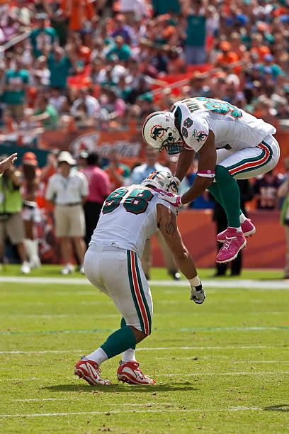 e7f6554f5cc Denver Broncos v Miami Dolphins Pictures