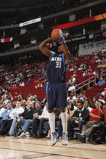 a9f6c43b8 Jason Terry  31 of the Dallas Mavericks takes a jump shot against the  Houston Rockets