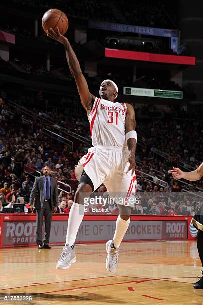 Jason Terry of the Houston Rockets shoots the ball against the Toronto Raptors on March 25 2016 at the Toyota Center in Houston Texas NOTE TO USER...