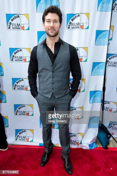 Jason Tobias attends the 9th Annual New Media Film Festival at James Bridges Theater on June 16 2018 in Los Angeles California