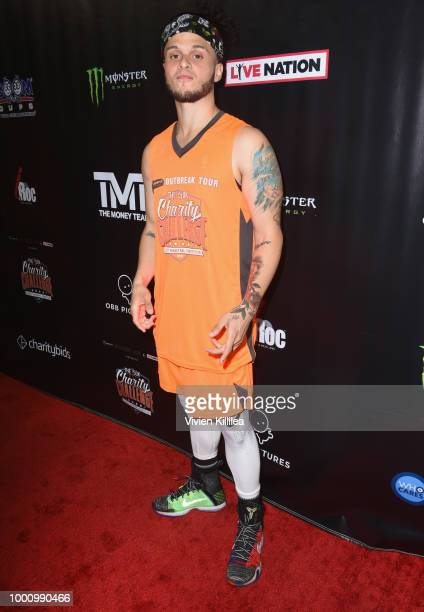 Jason Torres attends 50K Charity Challenge Celebrity Basketball Game at UCLA's Pauley Pavilion on July 17 2018 in Westwood California