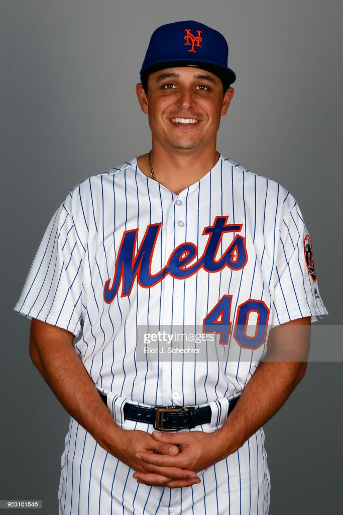 Jason Vargas #40 of the New York Mets poses during Photo Day on Wednesday, February 21, 2017 at Tradition Field in Port St. Lucie, Florida.
