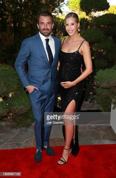 """Jason Wahler and Ashley Wahler attend a private event with the cast of MTV's """"The Hills"""" hosted by Cure Addiction Now & The Red Songbird Foundation..."""