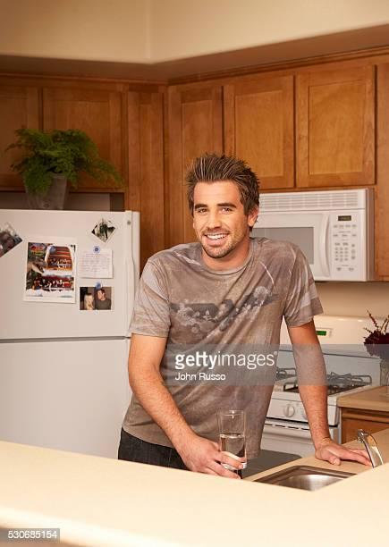 Jason Wahler at Home