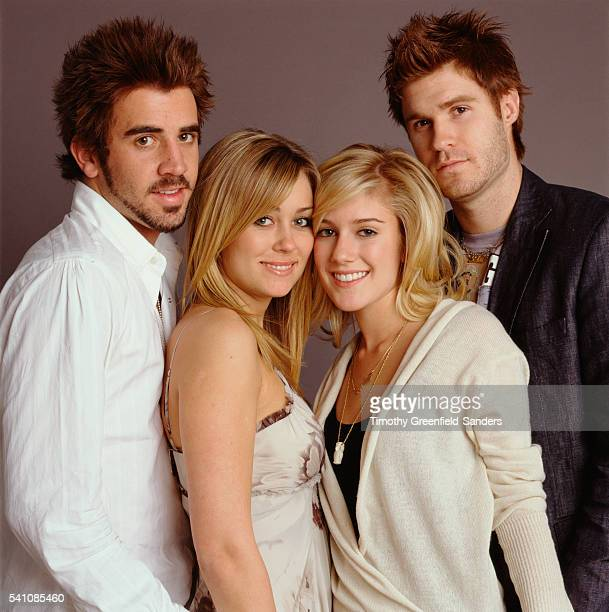 Jason Wahler Lauren Conrad Heidi Montag and Jordan Eubanks
