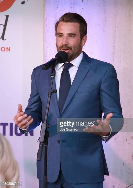 """Jason Wahler speaks during a private event with the cast of MTV's """"The Hills"""" hosted by Cure Addiction Now & The Red Songbird Foundation on March 05,..."""