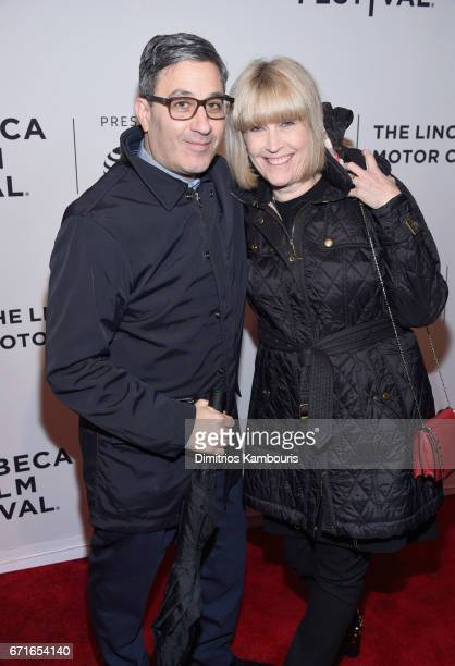 Jason Weinberg and guest attend the 'House of Z' Premiere during 2017 Tribeca Film Festival at SVA Theatre on April 22 2017 in New York City
