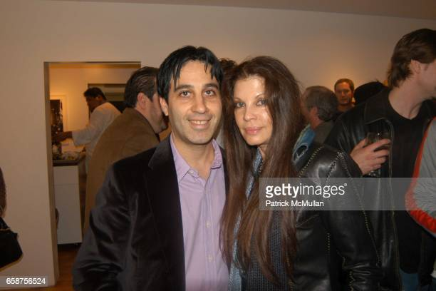 Jason Weinberg and Loree Rodkin attend Patrick McMullan so8os Photo Exhibition at The Earl McGrath Gallery Hosted by Perrier Jouet on February 25...