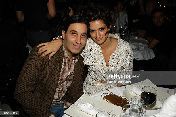 Jason Weinberg and Penelope Cruz attend PAPER MAGAZINE Hosts Dinner for Pedro Almodovar at Indochine on October 5 2006 in New York City