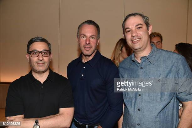 Jason Weinberg Devin Wenig and Shawn Sachs attend eBay Hosts July 4th Benefit for Sag Harbor Cinema Restoration Project at Lulu Kitchen and Bar on...