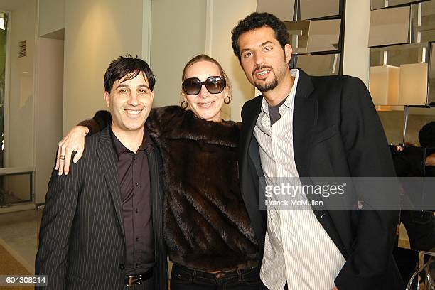 Jason Weinberg Jacqui Getty and Guy Oseary attend W Magazine Hollywood Retreat hosts a Pre Oscar Luncheon for Arianne Phillips at Private Residence...