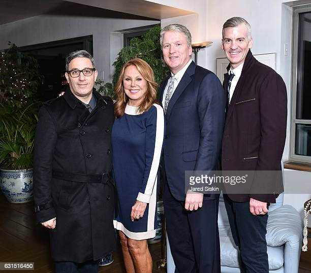 Jason Weinberg Marlo Thomas Bill Brand and Brian Ross attend The HSN Celebration for Marlo Thomas' Debut Fashion Line That Woman By MARLO THOMAS...