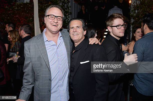 Jason Weinstock and Bruce Eskowitz attend Red Light Management 2016 Grammy After Party presented by Citi at Mondrian Hotel on February 15 2016 in Los...
