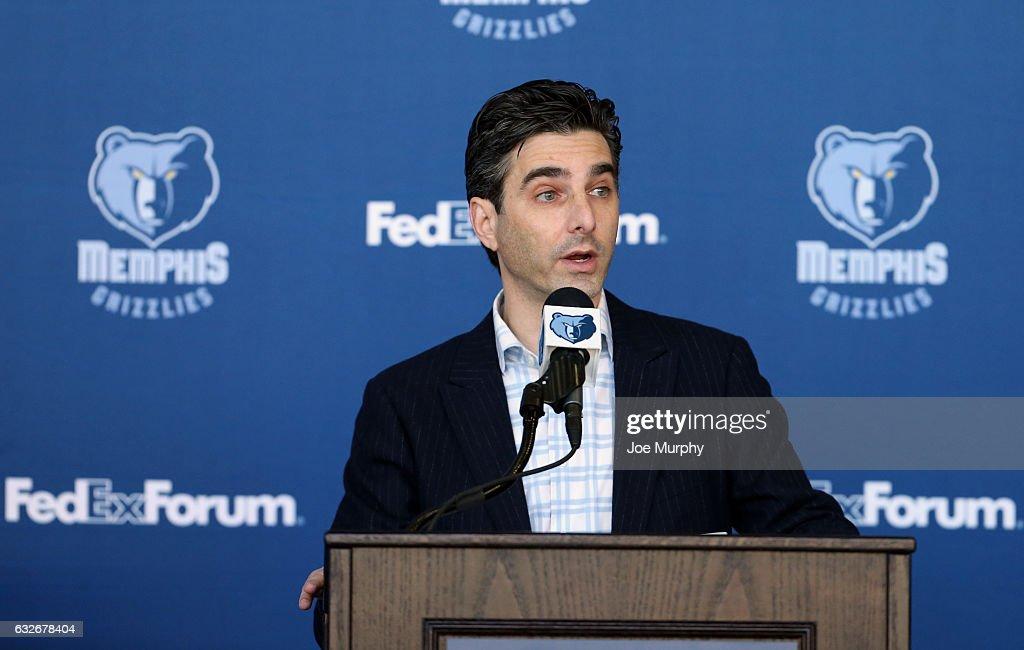 b0e1afb69d6 Memphis Grizzlies Purchase D-Leaue Team Press Conference. MEMPHIS