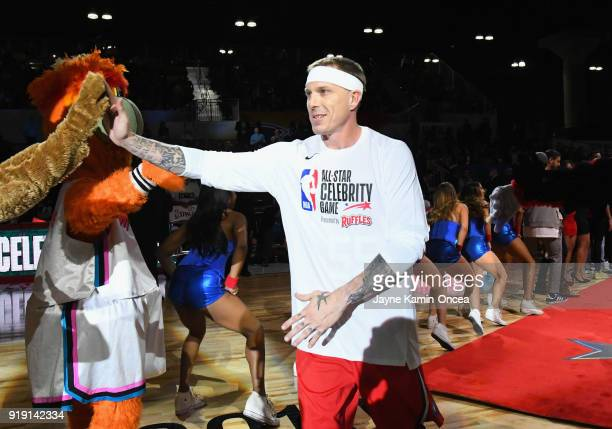 Jason Williams attends the 2018 NBA AllStar Game Celebrity Game at Los Angeles Convention Center on February 16 2018 in Los Angeles California