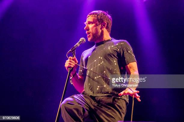 Jason Williamson of Sleaford Mods onstage at the Northside Festival on June 9 2018 in Aarhus Denmark