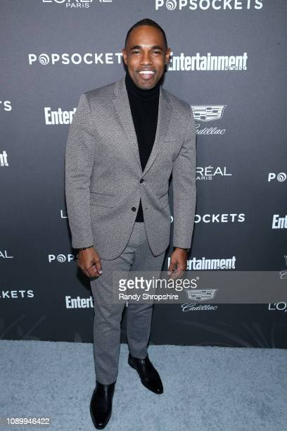 Jason Winston George attends Entertainment Weekly Celebrates Screen Actors Guild Award Nominees sponsored by L'Oreal Paris Cadillac And PopSockets at...