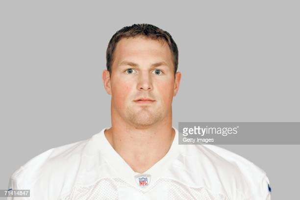Jason Witten of the Dallas Cowboys poses for his 2006 NFL headshot at photo day in Dallas Texas