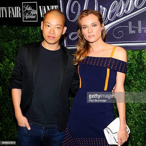 Jason Wu and Diane Kruger attend Vanity Fair SAKS Fifth Avenue International Best Dressed List at Saks Fifth Avenue on September 21 2016 in New York...