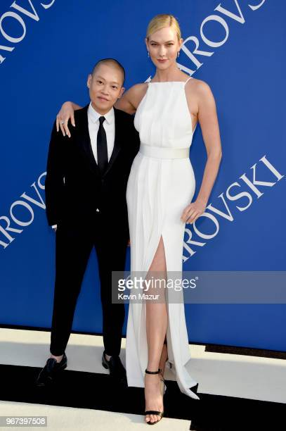 Jason Wu and Karlie Kloss attend the 2018 CFDA Fashion Awards at Brooklyn Museum on June 4 2018 in New York City