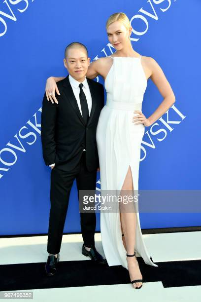 Jason Wu and Karlie Kloss attends the 2018 CFDA Fashion Awards at Brooklyn Museum on June 4 2018 in New York City