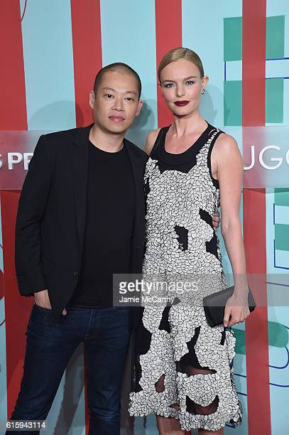 Jason Wu and Kate Bosworth attend HUGO BOSS and GUGGENHEIM celebration of the 20th Anniversary of the HUGO BOSS Prize at Solomon R Guggenheim Museum...