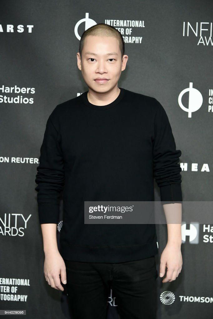 Jason Wu attends the International Center of Photography's 2018 Infinity awards on April 9, 2018 in New York City.